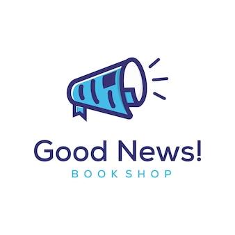 Дизайн логотипа продвижение бумаги спикера