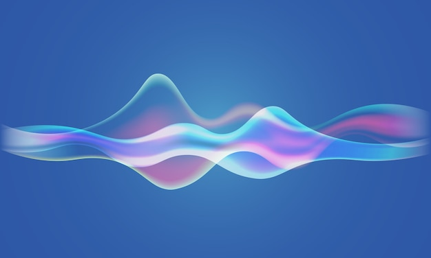 Speaker sound waves background
