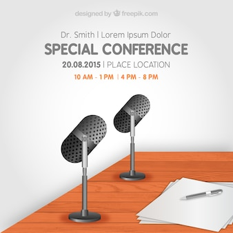 Special conference flyer