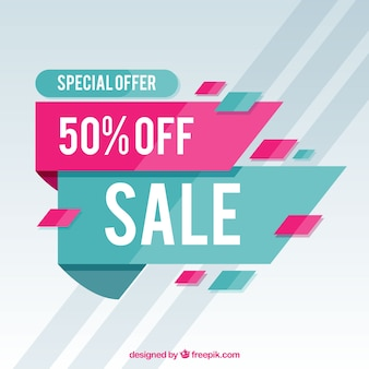Special discount background