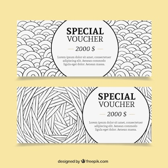 Special dollar voucher pack