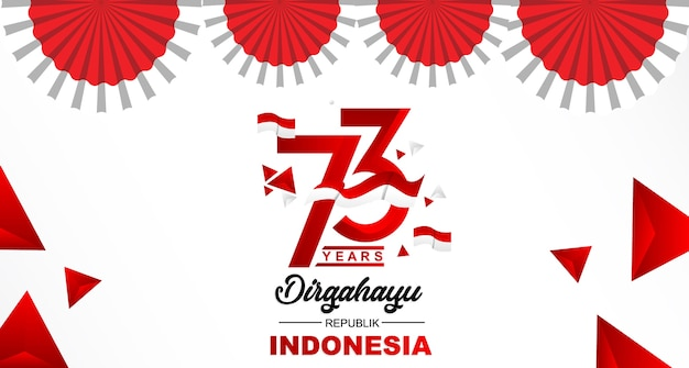 Special happy independence indonesia
