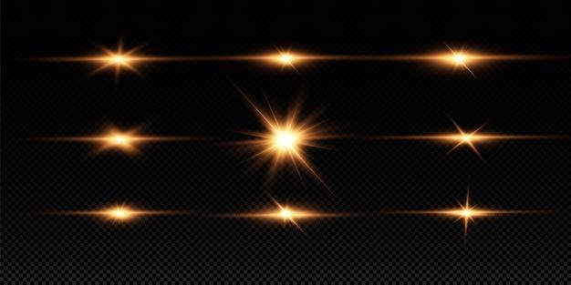 特殊レンズフレアライトエフェクトセット