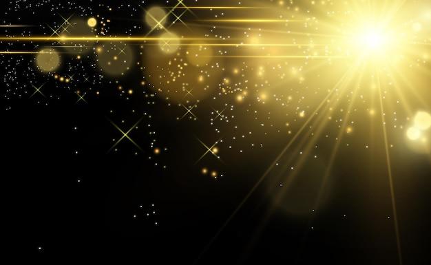 Световой эффект вспышки со специальной линзой вспышка мигает лучами и прожектором белый светящийся свет