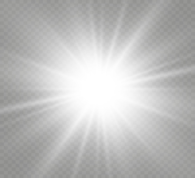 특수 렌즈 플래시, 조명 효과.