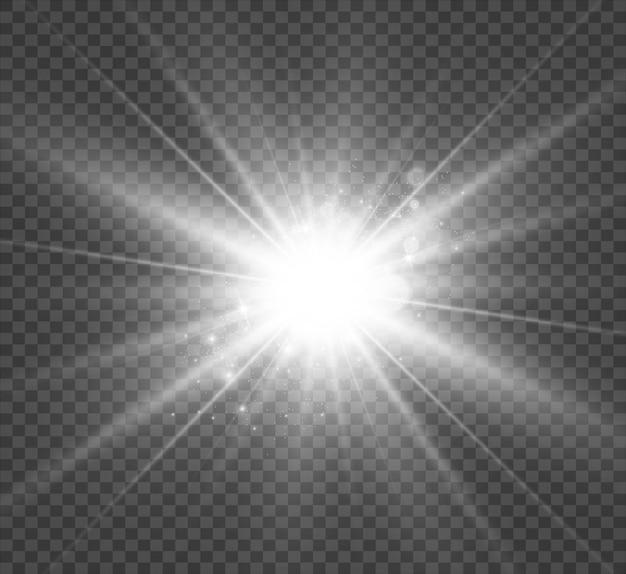 特殊レンズフラッシュライト効果