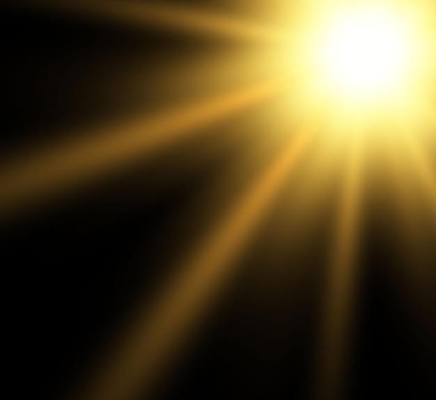 Special lens flash light effect