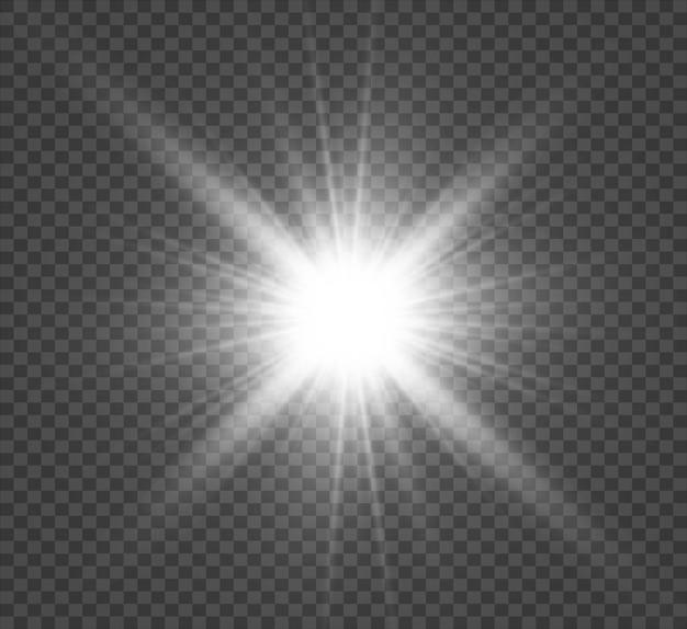 Световой эффект вспышки со специальной линзой