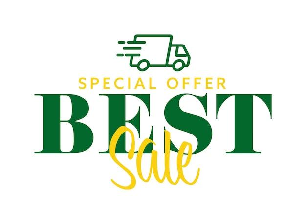 Специальное предложение лучшая продажа и реклама службы быстрой доставки