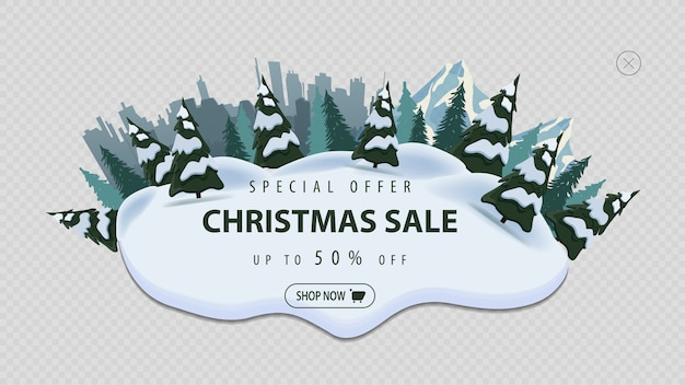 Special offer, christmas