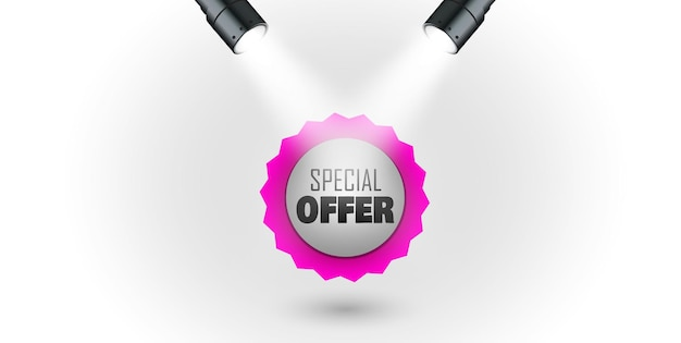 Special offer labels paper