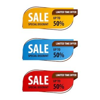 Special offer sale banner design