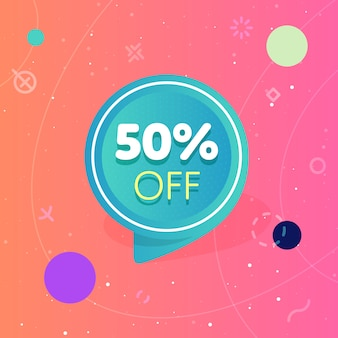 Special offer sale banner