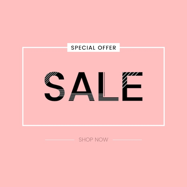 Special offer sale promotion vector