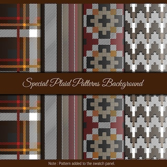 Special plaid pattern background. red, black and brown plaid pattern for textile.