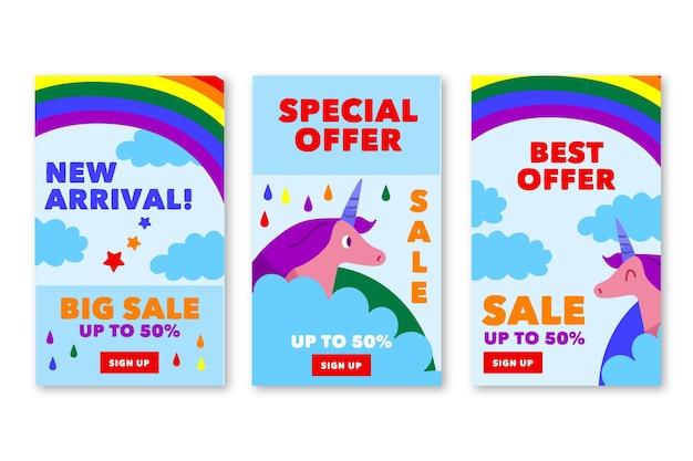 Special sale instagram stories