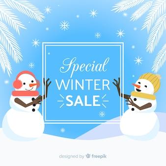 Special winter sale