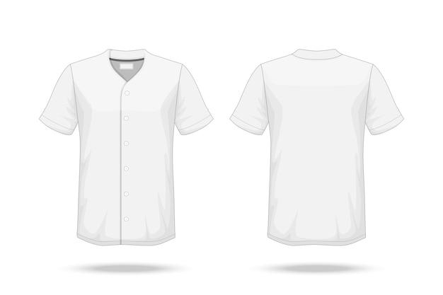 Specification baseball t shirt mockup