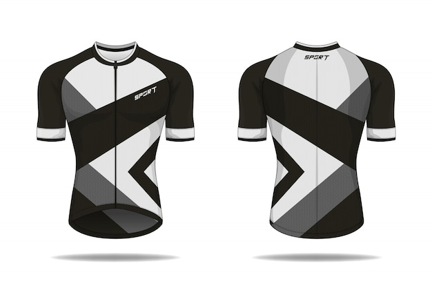 Specification cycling jersey template