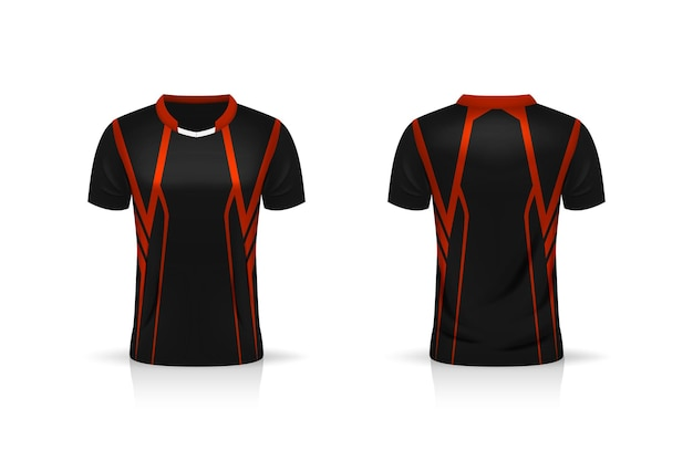 Specification soccer sport , esport gaming t shirt jersey template.