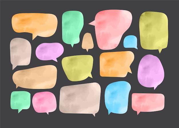 Speech bubble cut paper design template vector illustration for your business