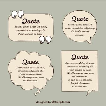 Речевой пузырь для шаблона цитаты
