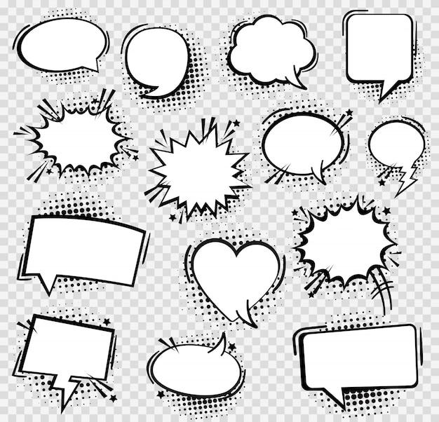 Речи пузырь в стиле поп-арт