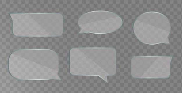 Шаблон речи пузыри изолированы