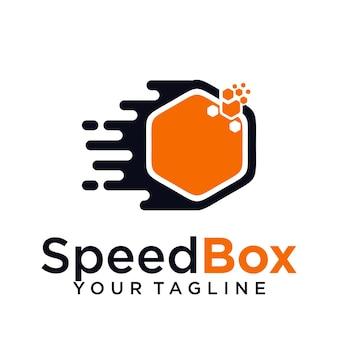 Логотип speed box
