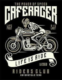 Speed of caferacer