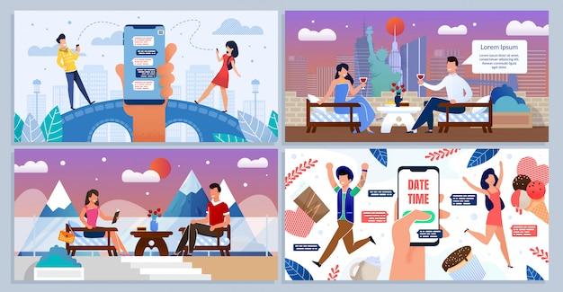 Онлайн и speed date, романтические знакомства для двоих
