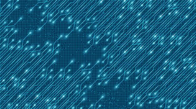 Speed light electronic background