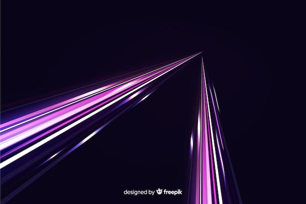 Speed light trail background