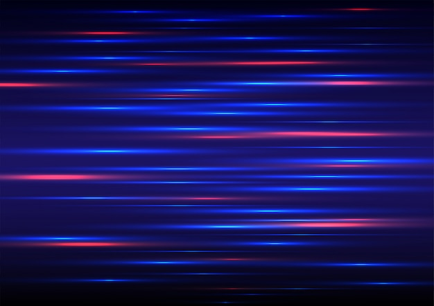 Speed motion futuristic red background.