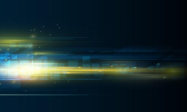 Speed movement  background