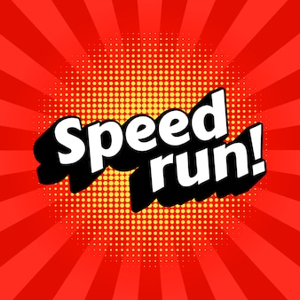 Speedrunビデオゲームチュートリアルのジャンル。