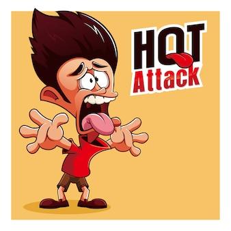 Горячие персонажи талисмана spicy burn