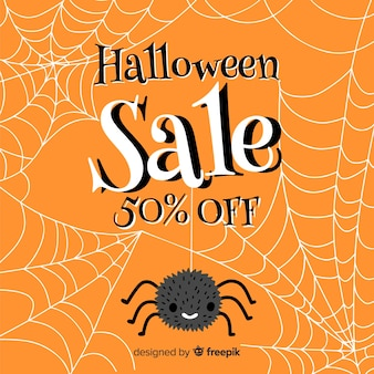 Spider and cobweb halloween sale