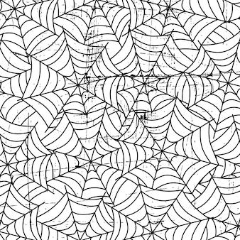 Spider web art