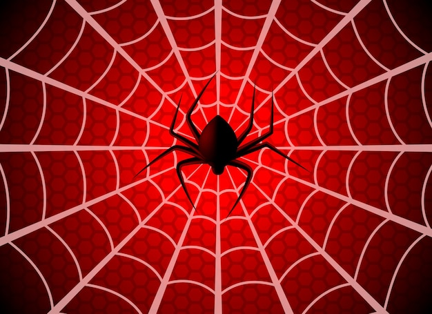 Паутина. паутинная ловушка, графический силуэт паутинки на хэллоуин. человек-паук смешная жуткая вечеринка чистая текстура, обои шаблон паутины
