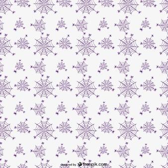할로윈 거미줄 패턴