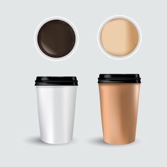 쏟 았된 커피 핫 초콜릿 코코아 간단한 평면 스타일 그래픽 벡터 일러스트 레이 션