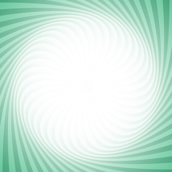 Spiral background from swirling rays