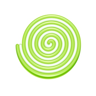 Spiral jelly candy icon.