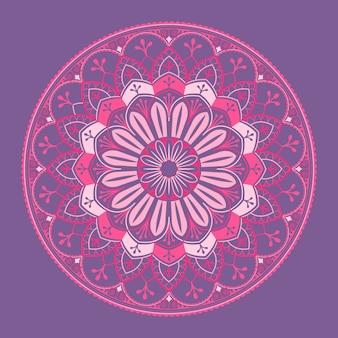 Spiritual hindu mandala