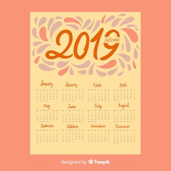 Календарь splash 2019