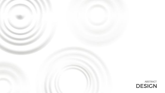 Splash background. milk cream shapes on white. top view liquid rounds vector banner template. white milk cream motion, illustration splash liquid milky