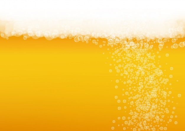 Splash beer background