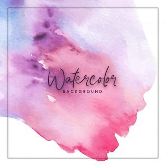 Splash watercolor red purple background