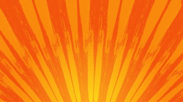 Splashed sunburst background